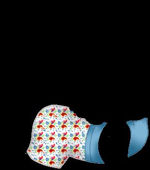 Принять хорек Пастельно-синий