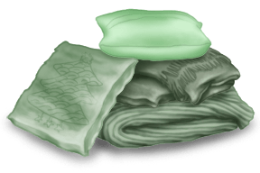 Подушки и чехлы для интерьера шале