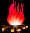 Дровяной огонь