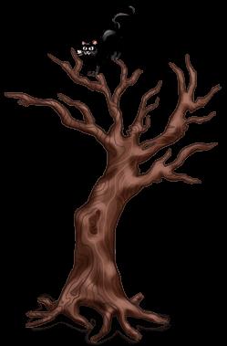Хэллоуин витой елки
