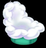 Облачный стул