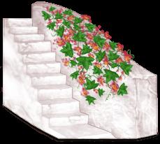 Лестничный блок в Греции