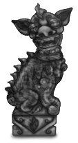 Китайская статуя