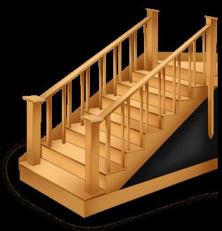 Готическая лестница