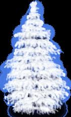 Снежное Снежное Дерево