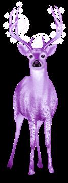 Снежный олень