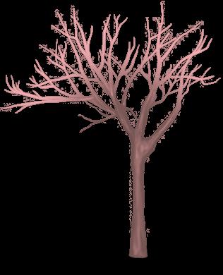 Олень дерево