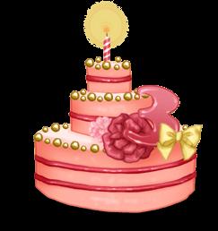 3 года торт