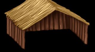 Большой деревянный мезонет