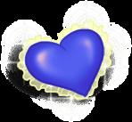 Маленькая сердечная подушка