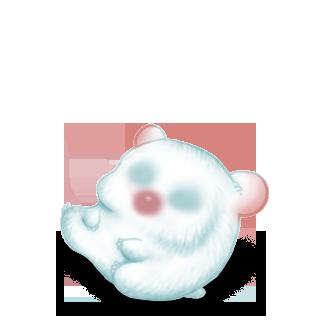 Принять Hamster снег