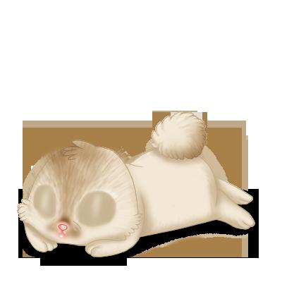 Принять кролик Бежевый коричневый