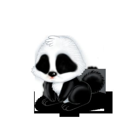 Принять кролик панда