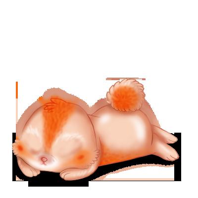 Принять кролик морковь