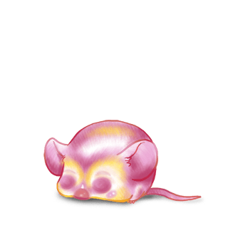 Принять мышь Коричневый полосатый