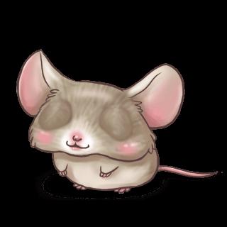 Принять мышь серый