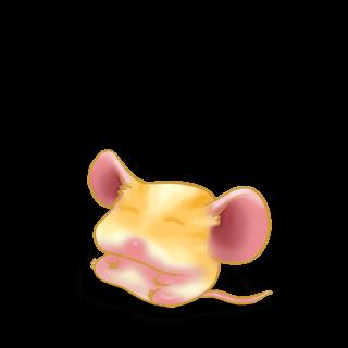 Принять мышь блондин
