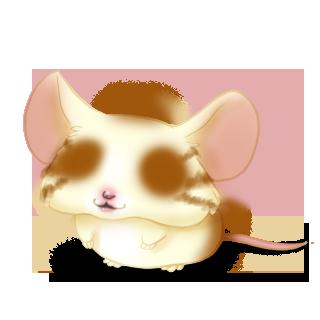 Принять мышь Blondy