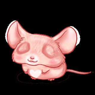 Принять мышь любовь