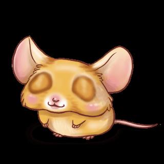 Принять мышь Пастельно-синий