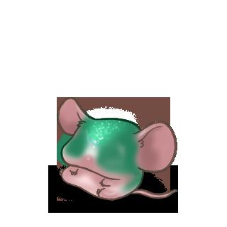 Принять мышь изумруд