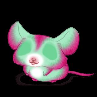 Принять мышь фисташковый