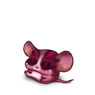 Принять мышь фуксия