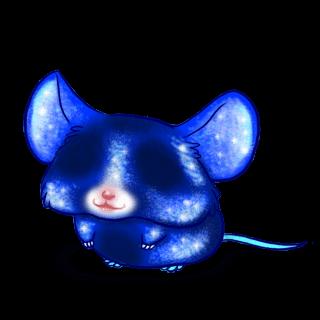 Принять мышь блестки