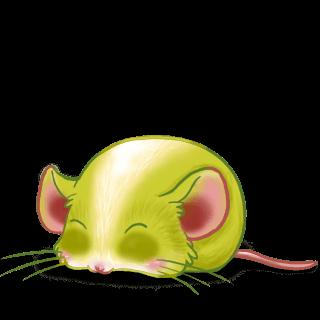 Принять мышь яблоко