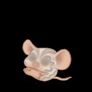 Принять мышь Скрипка серая