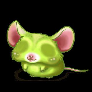 Принять мышь великан-людоед