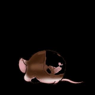 Принять мышь бежевый