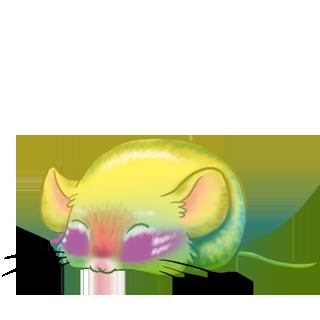 Принять мышь бирюзовый